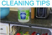 Cleaning Tips / Tips and Hints to Make Cleaning Easier