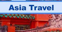 Asia Travel / There are so many great destinations to travel to in Asia, including Hong Kong, Vietnam, Cambodia, India and Japan, just to name a few. For some great travel ideas of tips on where to go, check out this board.