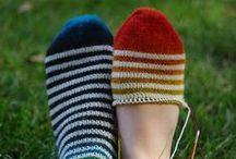 Zoknifonalból zoknit / Zoknifonalak - mint a nevük is mutatja - zoknikhoz