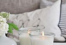 BASKETS AND CANDLES