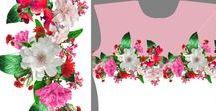 dress pattern / fashion textile fabric pattern