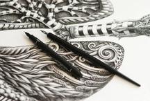 Design : illustrious illustrations / Mind bending and thought provoking illustrations for inspiration. Enjoy / by Ville Korpela