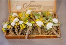 Boutonieres / Corsages / by HandPickd (Just for You) Hillary and Mari