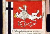 Herby / Flagi / Chorągwie / Crests / Flags