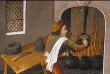 Średniowieczna kuchnia / Medieval kitchen