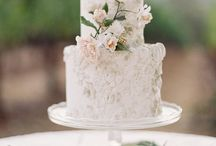 Nom Nom Nom / We love the cake, we also love all the other edible delights at a wedding