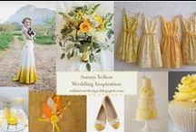 sunny yellow wedding inspiration.