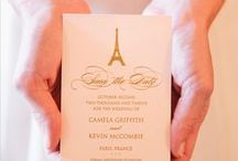 Wedding Invitations / Custom, unique wedding invitations that will set the tone for your elegant wedding.