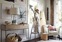 STYLING - COASTAL / INSPIRING COASTAL STYLED SPACES BY THE SEA