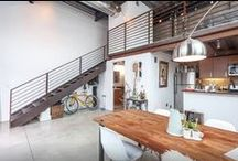 Luxe & Light Lofts / We love small spaces that make big impact. From chic and cozy to sunny and sophisticated, these lofts and studios are sure to inspire.