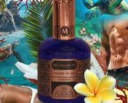 Toukka Ta Tao / Imagine the essence of a tropical vacation, captured in bottle. The salty sea breeze as you walk the shore, the rejuvenating fruity cocktail served to you as you lay in the sun, and the decorative leis given to you by the locals which entice your nose with the most exotic of floral scents. As you dive into the sea, you realize that the ocean has already been calling your name, moving ever closer to you.