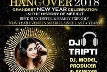 Grandest New Year Celebration (Hangover - 2018) / Bravura Gold Resort presents Grandest New Year Celebration (Hangover - 2018) with highly energetic DJ Tripti Sharma who will set the dance floor on fire!!! For more details, please visit us at http://www.newyear-party.in/ or call us now at +91-8191079998, 8191900048, 8476000194