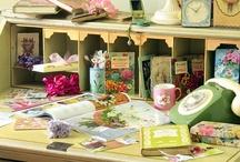 Craftingroom/Working Space / by Julia Riedel
