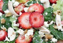 Salads/Dressings / by Yvette Church