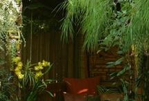 Garden: cozy hideaways, nooks & huts