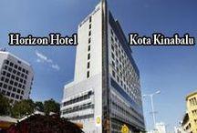 Horizon Hotel Kota Kinabalu / Combining a luxurious environment with premium amenities, the Horizon Hotel & Spa features a jacuzzi, an outdoor pool and a kids pool. http://www.horizonhotelkotakinabalu.com/