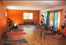 The New Yoga Space Takes Shape / Dedicated yoga room to practise and teach - and no more driving!