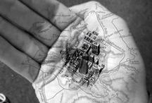Invisible Cities / Onzichtbare Steden.  Invisibly cities.  Inspired bij Italo Calvino and Piranesi's Carceri.  Between environment, architecture, art and secrets.