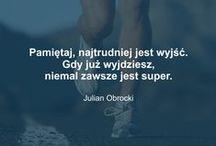 ♥ SPORT - CYTATY / Cytaty związane ze sportem, które zmotywują do codziennego wysiłku.   źródło: https://www.facebook.com/profilaktywny?fref=ts