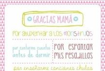 Día de la Madre / Plantillas para imprimir y colorear