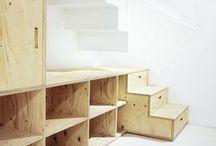 plywood / Moje inspiracje sklejką. My plywood inspirations.