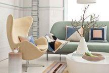 living * room / Moje inspirujące salony. My inspiring living rooms.