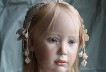 Dolls from studio of Jeanne Gross