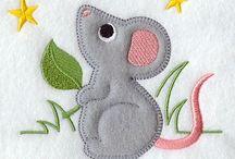 Mouse appique