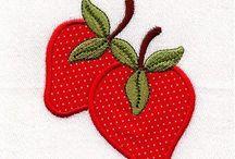 Fruit, Vegetables applique