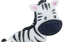 Zebra applique
