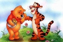 Winnie the Pooh applique / Micimackó Malacka Tigris Füles