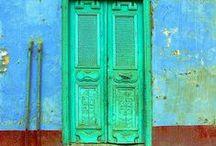 Travel: doors & windows / Doors, windows, gates, door handlers.