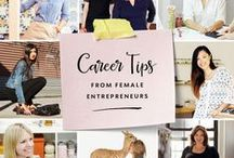 career pick-me-ups / words of wisdom from successful women and advice for building your career. / by Kim Wensel