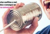 COMUNICAÇÃO / A qualidade dos nossos relacionamentos dependem da nossa comunicação. A nossa forma de nos comunicar tem um impacto importante na família, no trabalho. Uma boa comunicação exige esforço mas paga em dobro. Aqui você encontra artigos e inspiração para comunicar-se bem.