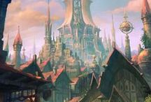 Fantasy Lands / Cool, magical, mystical, and fantastic places to get my gears moving.