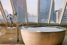 A Bathroom with a View / Beautiful bathrooms on the inside and stunning views on the outside. Browse these inspirational rooms with a view.