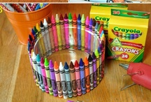 Creative Corner / Fun kids crafts that have inspired us and filled up some fun family time!