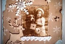 christmas card I made / christmas cards