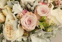 wedding bouquet / brides and bridemaids' bouquets