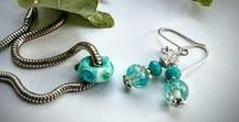 Bead Lampwork self  made Glas juwels / hand made lampwork glas jewels  made in my home studio