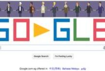 Google Doodles / You just think you're so clever. / by AliceMary
