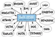 Bliink Design / I strive to understand your target audience and develop literature that communicates your key message in a format that is attractive, relevant and compelling. I aim to provide quality work with excellent service at a cost you can afford.