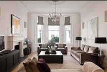 Project : K E N S I N G T O N / Three unloved flats were stripped back to a bare shell to create a light filled, 5000 square foot family house on the prestigious Phillimore Estate. The end result had to be an elegant and stylish design that was able to withstand the rigours of a young family.