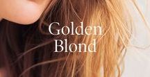 GOLDEN BLONDE / Blonde locks that inspire and tips on how to keep your golden locks shiny and healthy.  Whether color treated or naturally blonde;  learn what Christophe Robin products are specialty created for blonde locks