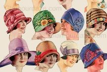Hats vintage collection / Collection