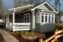 tiny homes / by Robin Elkins