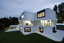 modern house / by Robin Elkins