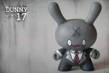 TOY:DUNNY / kidrobot - dunny series