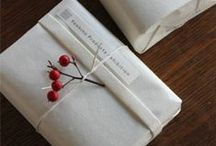 Gift & wrapping ideas / by Katie Fox