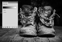 Tutorials / tutorials for Adobe Photoshop, Illustrator, InDesign.